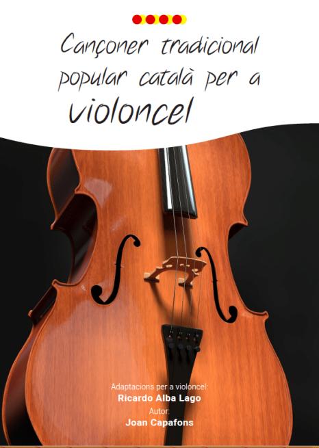 Partitures violoncel amb acords guitarra.