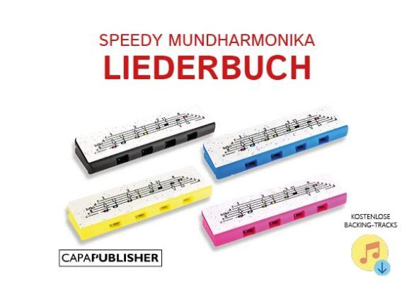 Llibre de partitures infantils en alemany harmònica Speedy Hohner