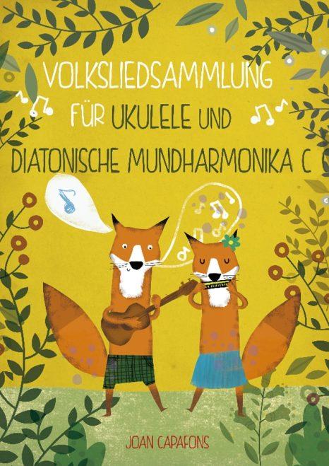 German book children's sheet music ukulele harmonica